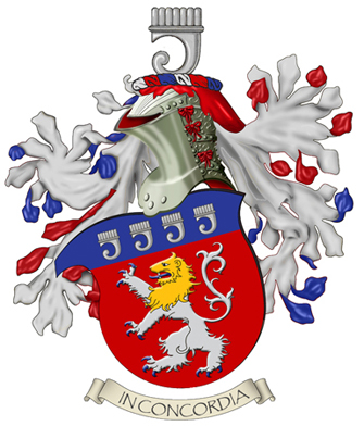 Arms of Dennis E. Roe