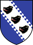 Arms of Charles Purcell